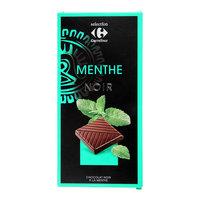 Carrefour Mint Dark Chocolate 100g