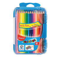 Maped 12Color Pencil+3 Florescent  Pencil