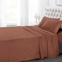 Tendance's Flat Sheet King Brown 275X260