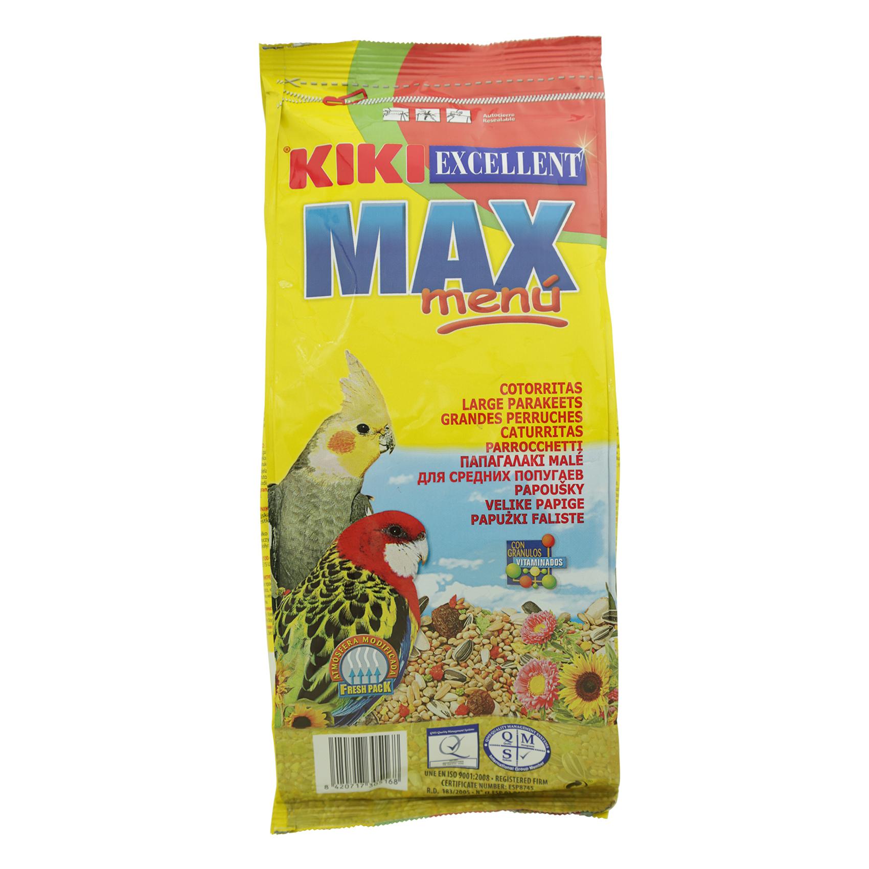 KIKI MAX MENU FOR PARAKEET 1KG