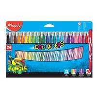 Maped Color Peps FeltTip Jungle24Colours