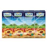 Lacnor Essentials Peach Nectar Juice 180mlx8