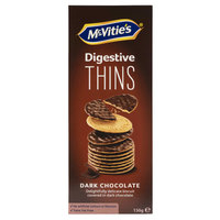 McVities's Digestive Thins Dark Chocolate 150g