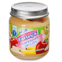 Farley's Baby Food Apple & Banana 120g