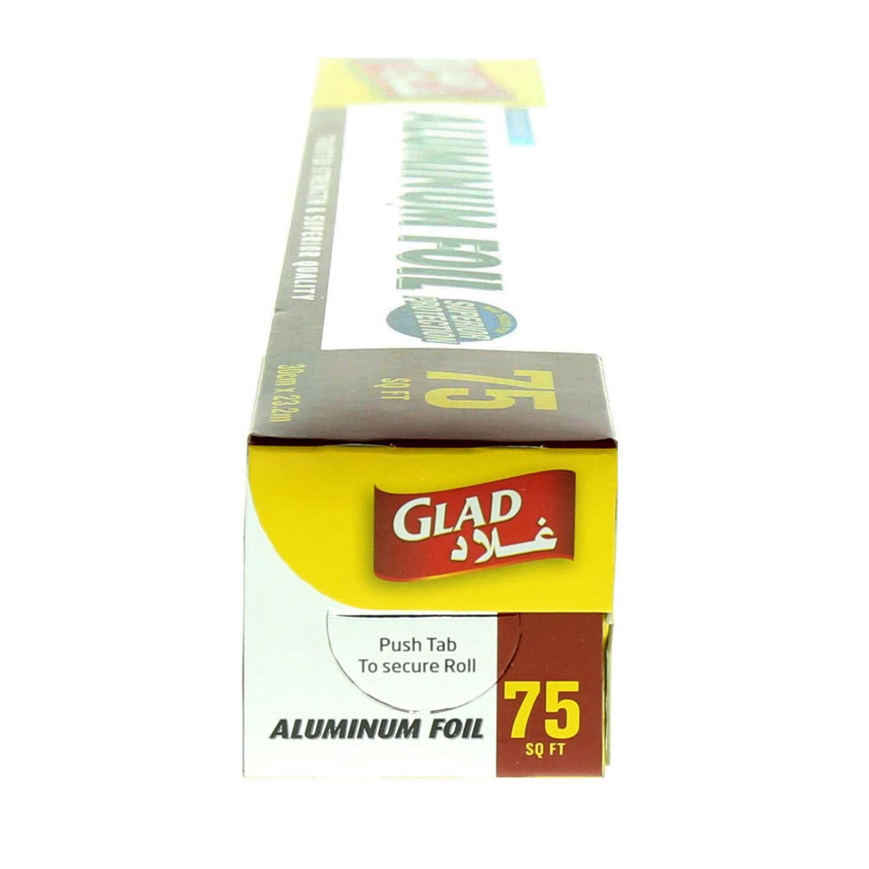 GLAD ALUMINUM FOIL 12 X 75 SQ FT