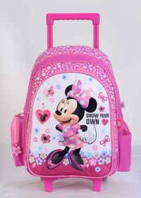 """Minnie - Trolley Bag 16"""" Bk"""