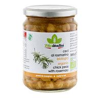 Bioitalia Organic Chick Peas with Rosemary 350g