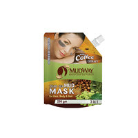 Mudway Mud Mask Tree In One With Coffee 200 Gram