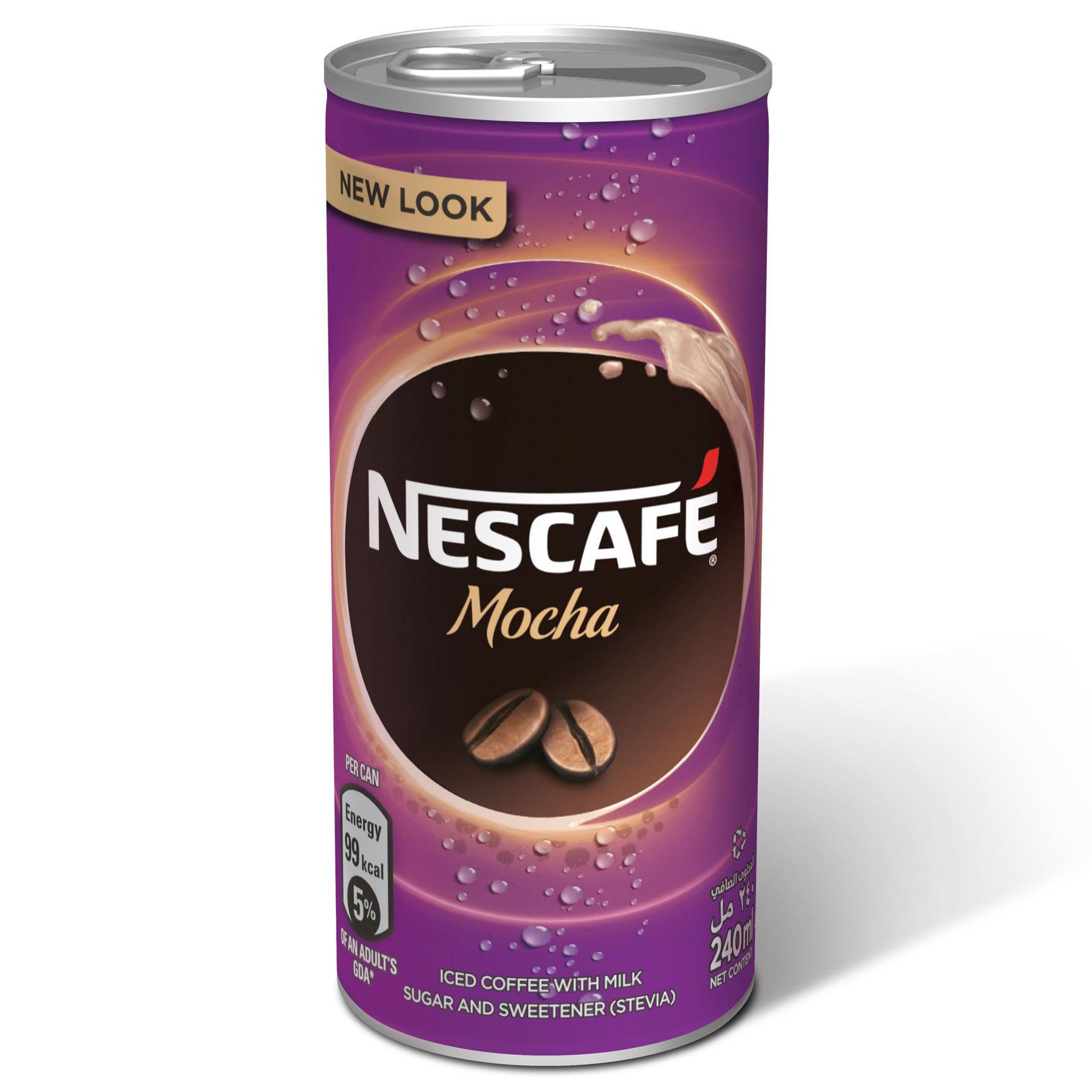 NESCAFE DRINK MOCHA 240MLX6