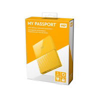 Western Digital My Passport Portable Hard Drive 1TB Yellow