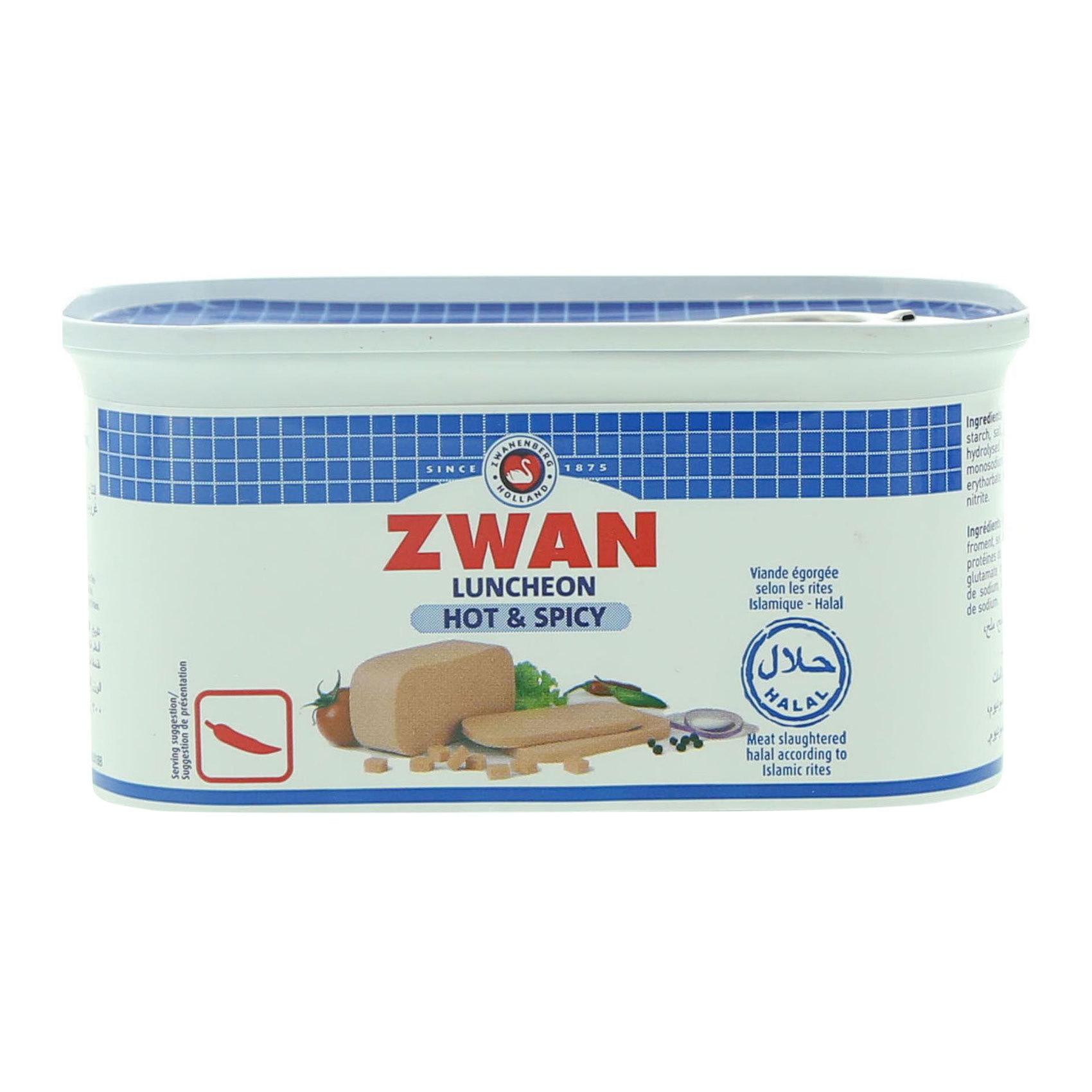 ZWAN LUNCHEON MEAT HOT/SPICY 200GR