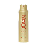 Jovan Gold Musk Oil Deodorant Body Spray For Woman 150ML