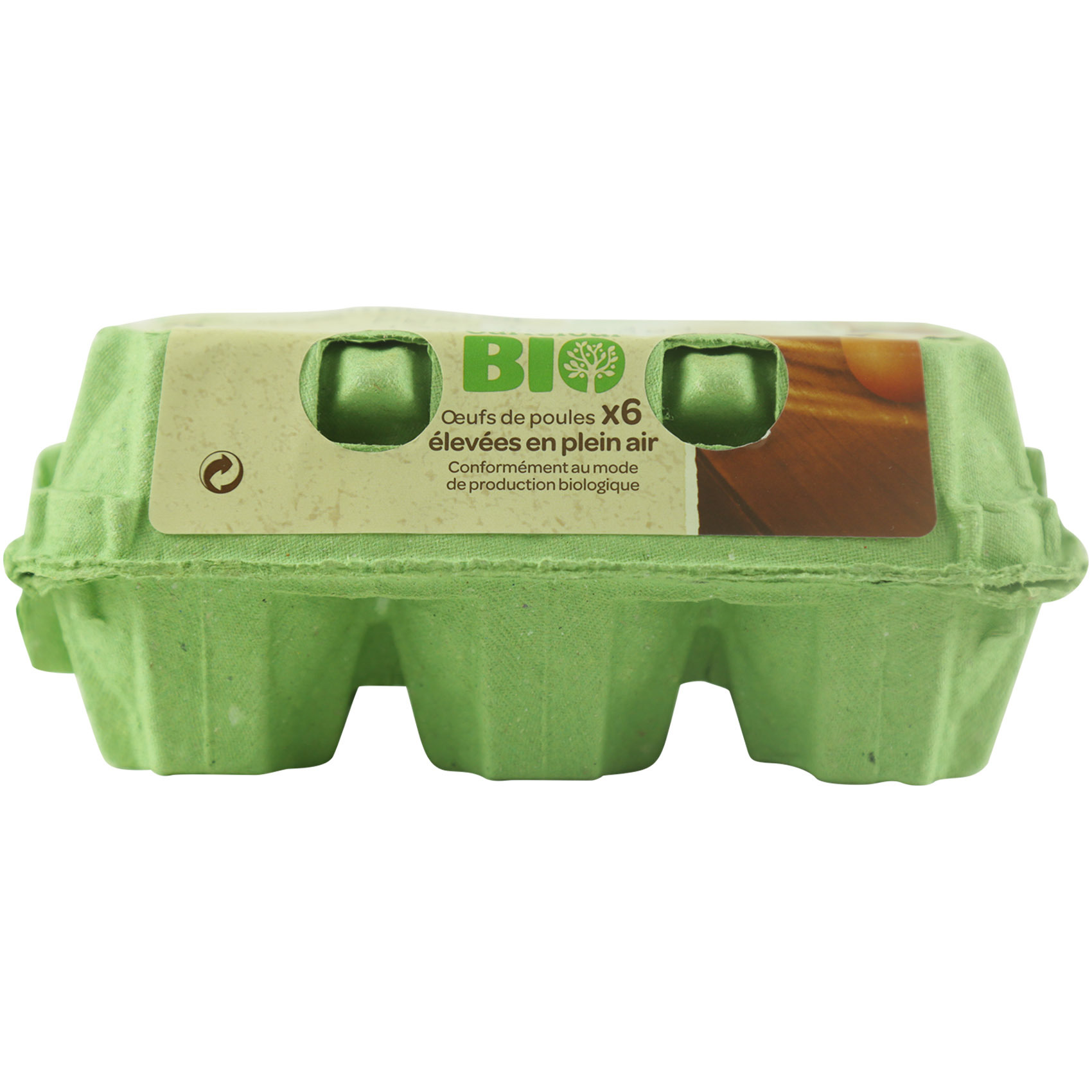 CRF BIO EGGS MEDIUM X6