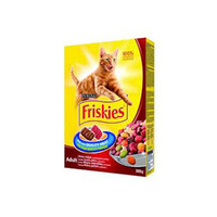 Friskies Treats Cats Food With Beef & Chicken & Vegetables 300GR
