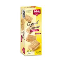 Dr Schar Custard Cream Biscuit Gluten Free 125GR