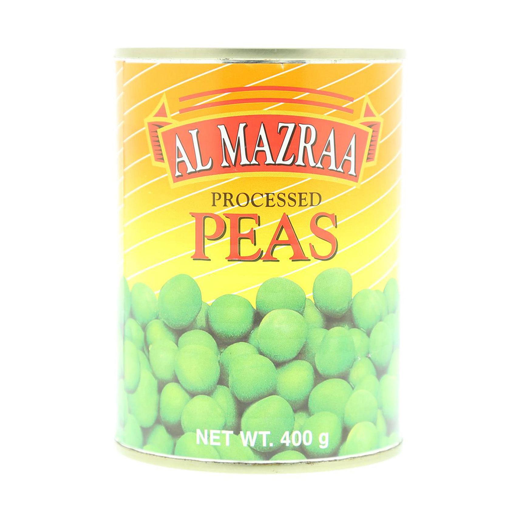AL MAZRAA PROCESSED PEAS 395GR