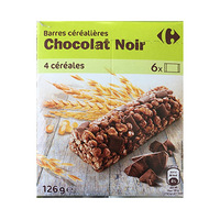 Carrefour Cereal Black Chocolate 126GR