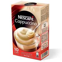 Nescafe Cappuccino Instant Foaming Mix 12.5g x 10 Sticks