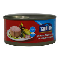 Nautilus White Solid Tuna In Spring Water 170g