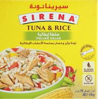 Sirena Tuna & Rice Italian Salad 190g
