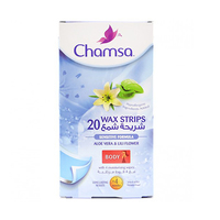 Chamsa Wax Body Strips Hypo-Allergic Skin 20 Strips