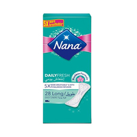 Nana Ladies Pads Pantyliner Long Deo 28 Napkins