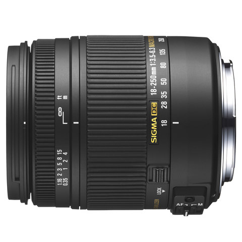Sigma-Lens-18-250MM-F/3.5-6.3-DC-For-Nikon