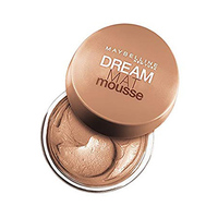 Maybelline Foundation Dream Matte Mousse Golden No 032 + Brush Free