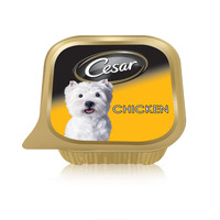 Cesar® Chicken Wet Dog Food Can Foil Tray 100g