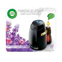 Air Wick Air Freshener Essential Oil Diffuser Kit, Lavender & Almond Blossom 20ml