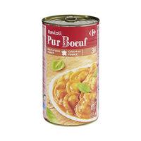Carrefour Raviolis Pure Boeuf 1200GR