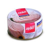 Alkhair solid tuna in sunflower oil 185 g