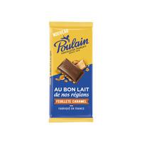 Poulain Chocolat Lait Caramel 95GR