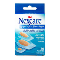 Nexcare Waterproof Bandages 30 Assorted