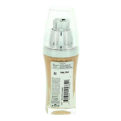L'Oreal-True-Match-Foundation-Golden-Sand-30ml