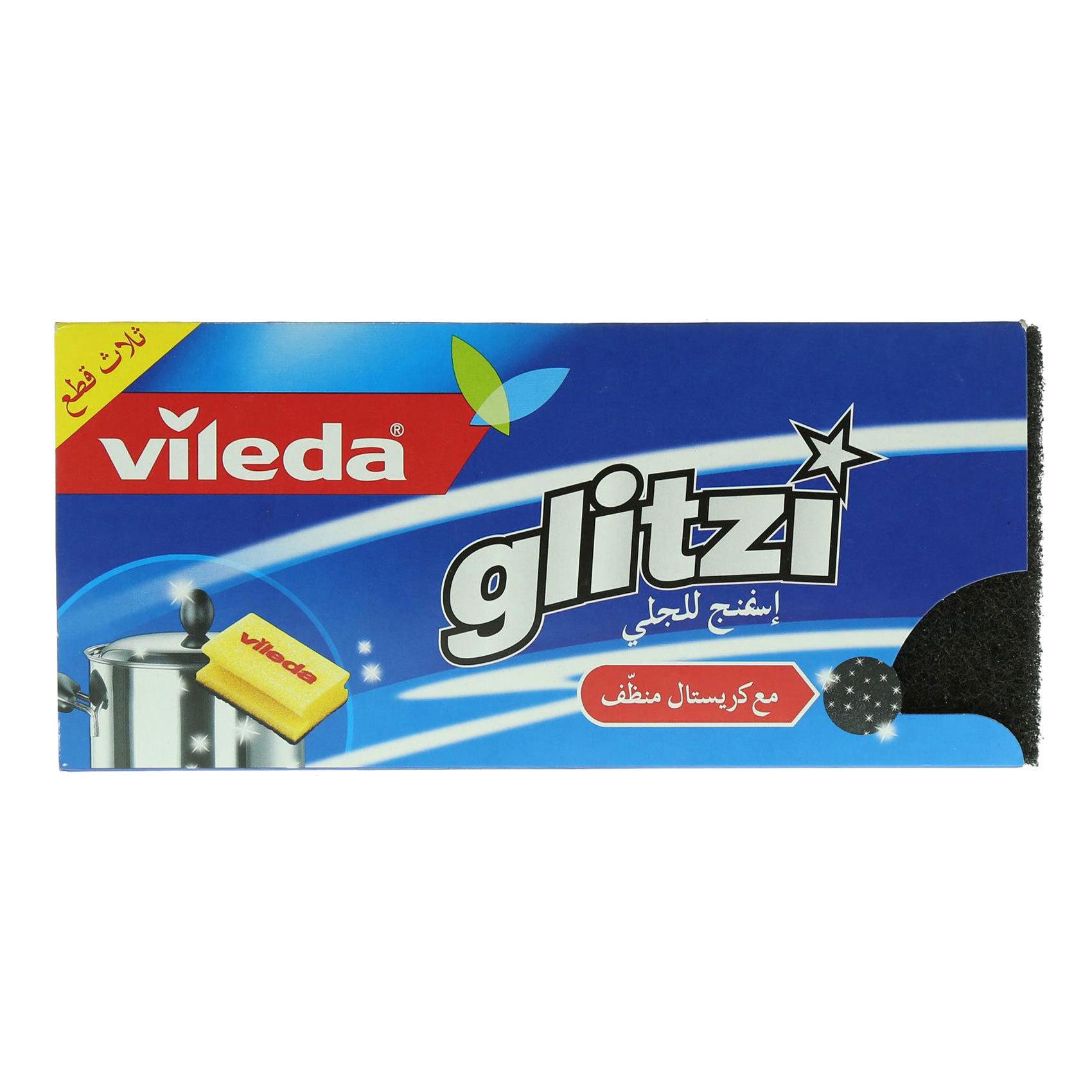 VILEDA GLITZI CRYSTAL X3