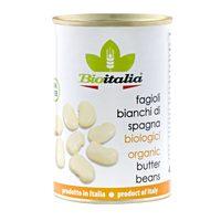 Bioitalia Organic Boiled Butter Beans 400g