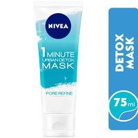 Nivea Face Mask Essentials 1 Minute Urban Skin Detox Mask Pore Refine 75ml