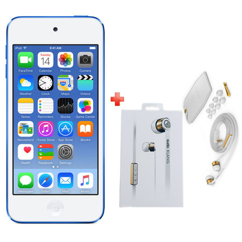 Apple-Ipod-Touch-16GB-Blue-+-Sudio-Klang-Earphone