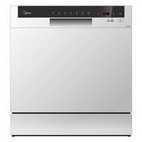 Midea Dishwasher WQP83802FS