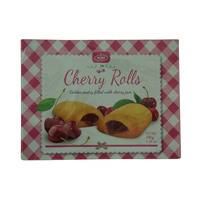 Klas Golden Pastry Filled with Cherry Jam Cherry Rolls 300g