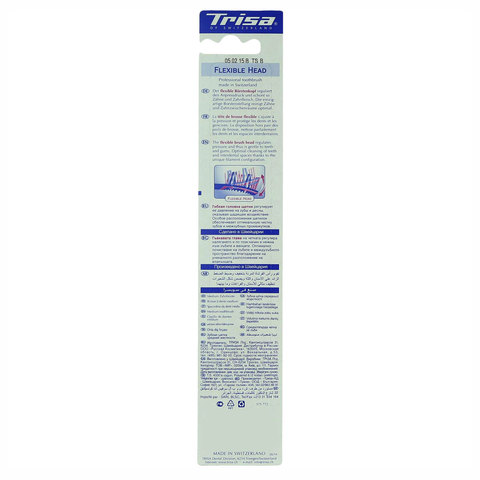 Trisa-Flexible-Head-Medium-Toothbrush