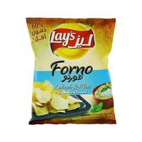 Lay's Forno Baked Potato Chips with Labneh & Mint 43 g