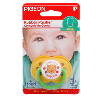 Pigeon Rubber Pacifier Olive Yellow