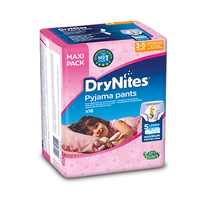 DryNites Diapers Girl Jumbo 3-5 Years  16-23KG