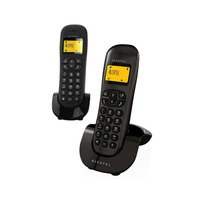 Alcatel Cordless Phone IC-250 Dual Handset Black