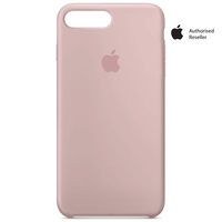 Apple Case iPhone 8Plus & 7Plus Silicon Pink Sand