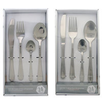 Cutlery Set Stainless Steel 24Pcs