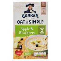 Quaker Oat So Simple Apple & Blueberry Flavour 360g