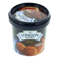 London Dairy Ice Cream Double Chocolate 125ml